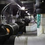 The new pump motor upgrades increase the DES plant capacity to deliver chilled water through the system